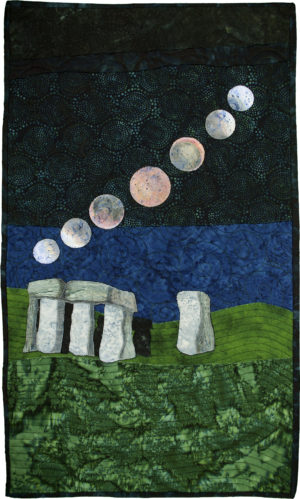 Eclipse Over Stonehenge by Kim K. Gibson