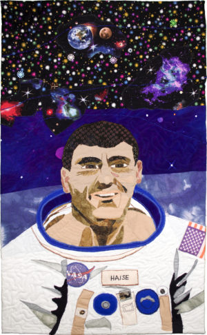 Fred Haise - Apollo 13 by Sharon V. Buck