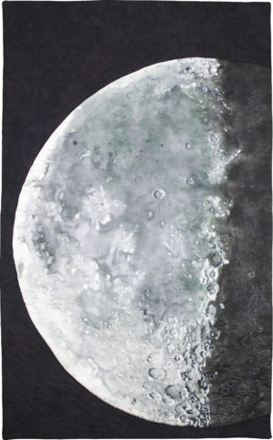 Last Quarter Moon © Ricki S Selva