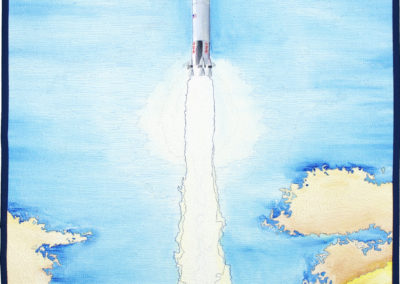 Leaving Home: Launch of the Apollo 8 by Tanya A. Brown