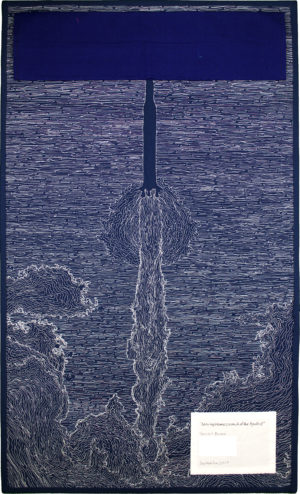Leaving Home: Launch of the Apollo 8 (back) by Tanya A. Brown