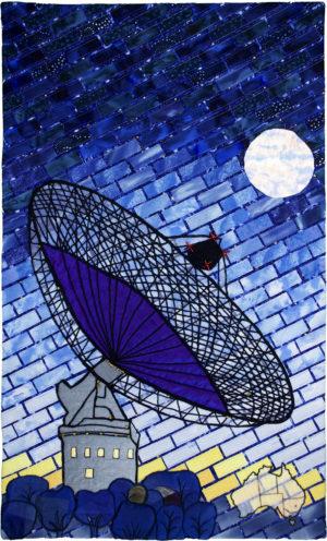 Parkes Telescope - Australia by Susan Auden Wood