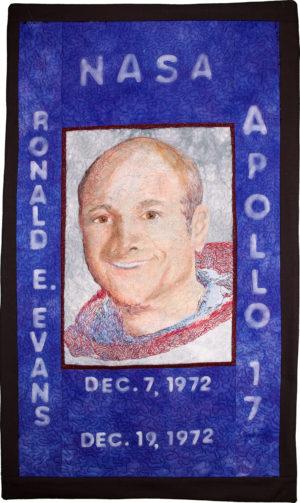 Ron Evans Apollo 17 by Timi Bronson