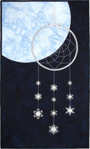 Snow Moon by Ginnie Hebert