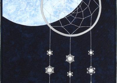 Snow Moon by Ginnie Hebert