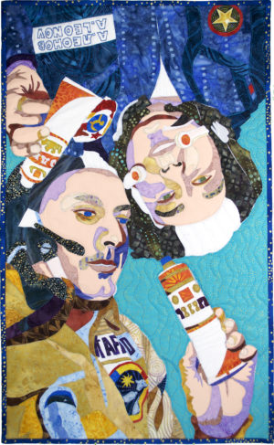 Tom and Alexei Share a Tube of Vodka by Luana D. Rubin